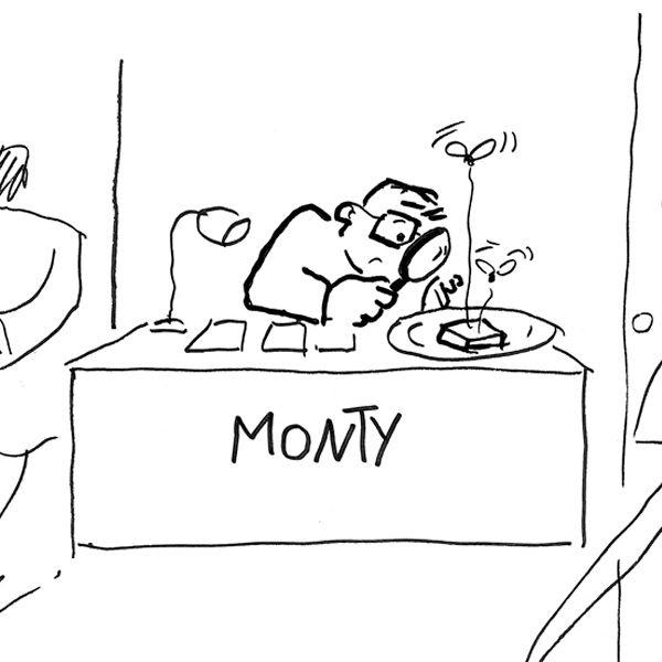 Flip, Monty y el Sr. Palomares